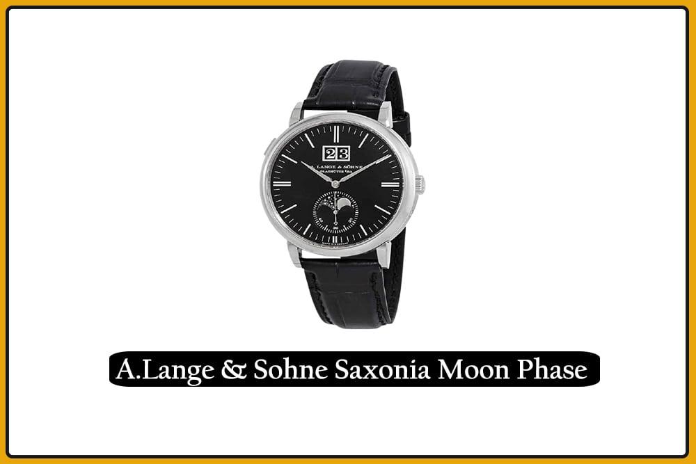 A.Lange & Sohne Saxonia Moon Phase