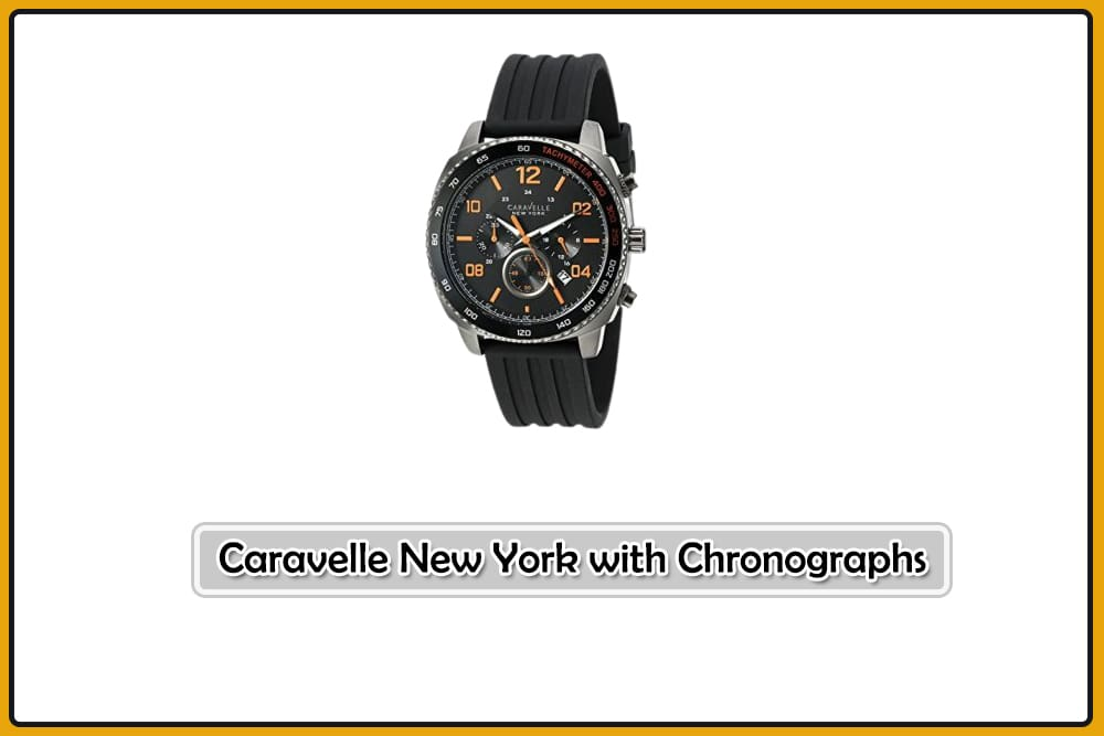 Caravelle New York with Chronographs