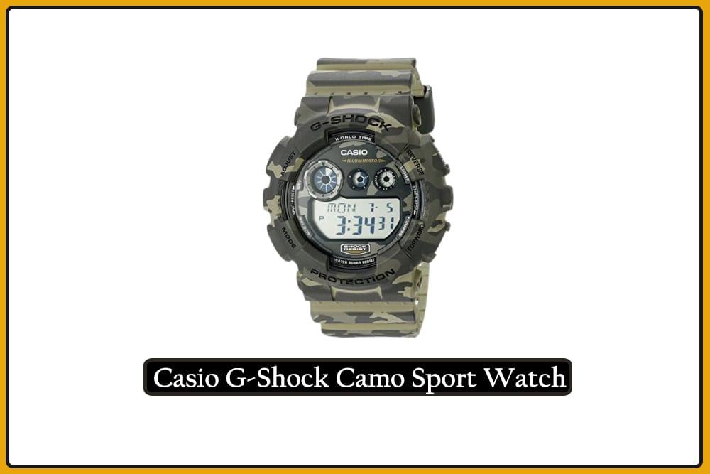 Casio G-Shock Camo Sport Watch