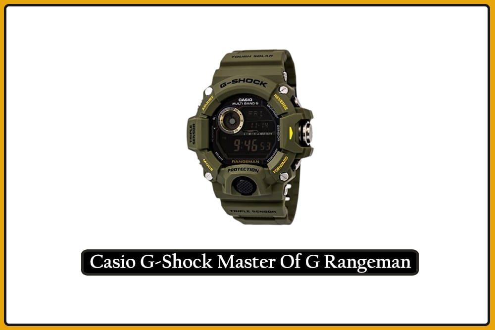 Casio G-Shock Master Of G Rangeman