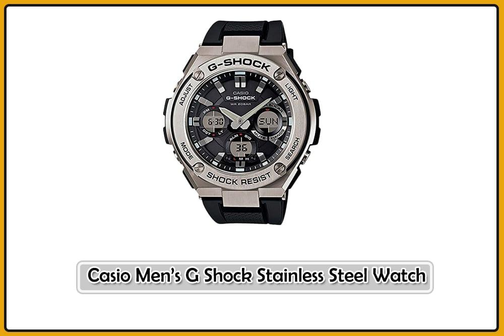 Casio Men's G Shock Stainless Steel