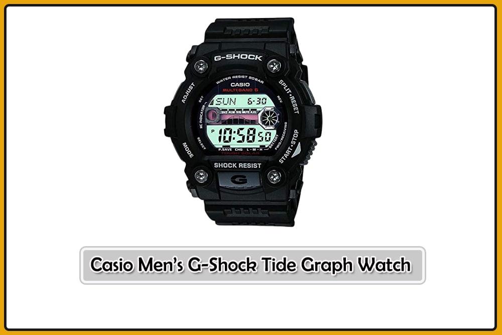 Casio Men's G-Shock Tide Graph Watch