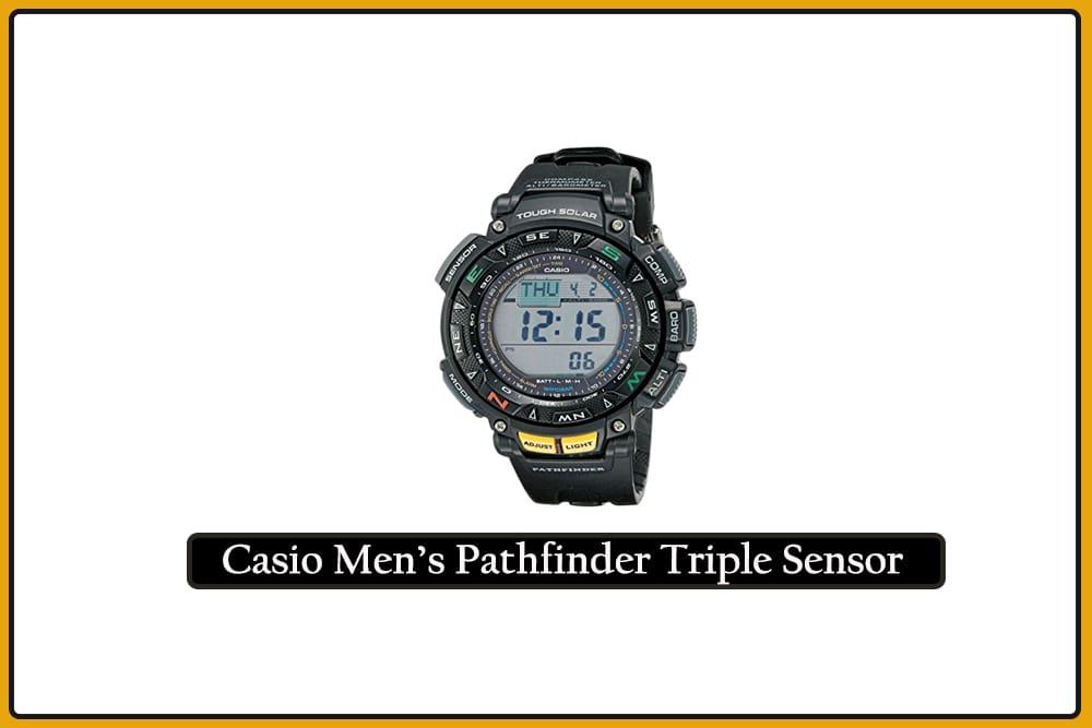 Casio Men's Pathfinder Triple Sensor