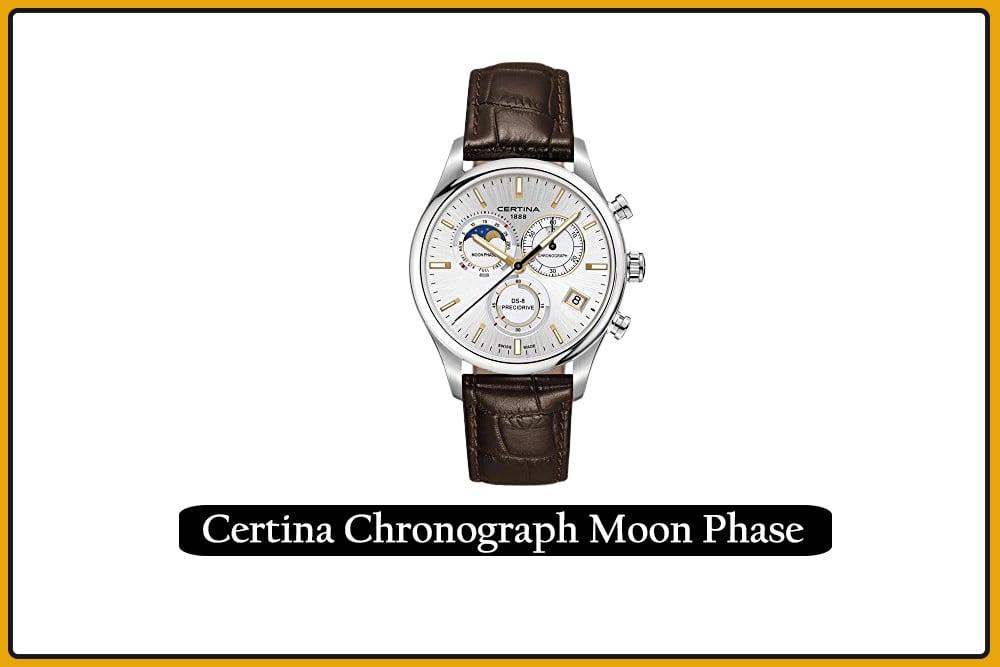 Certina DS- 8 Chronograph Moon Phase