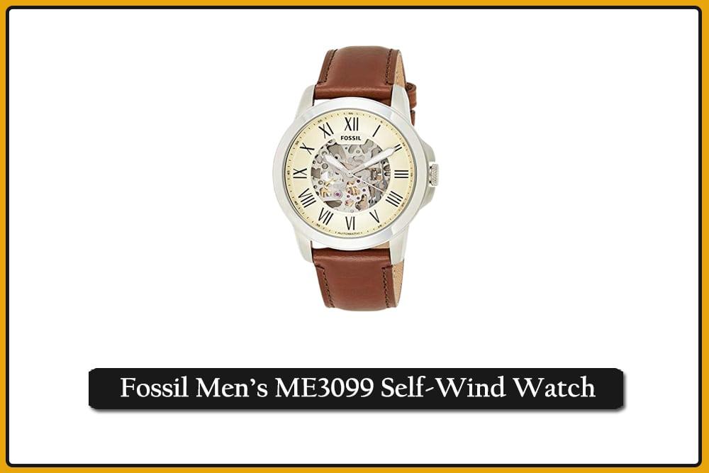Fossil Men's ME3099 Self-Wind Watch