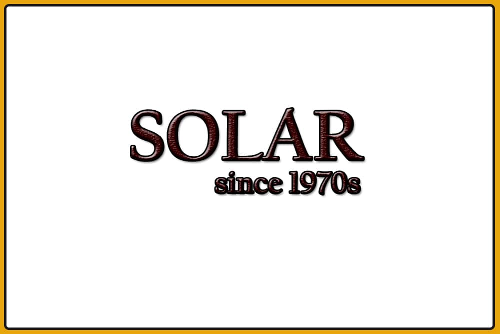 History of Solar Watches