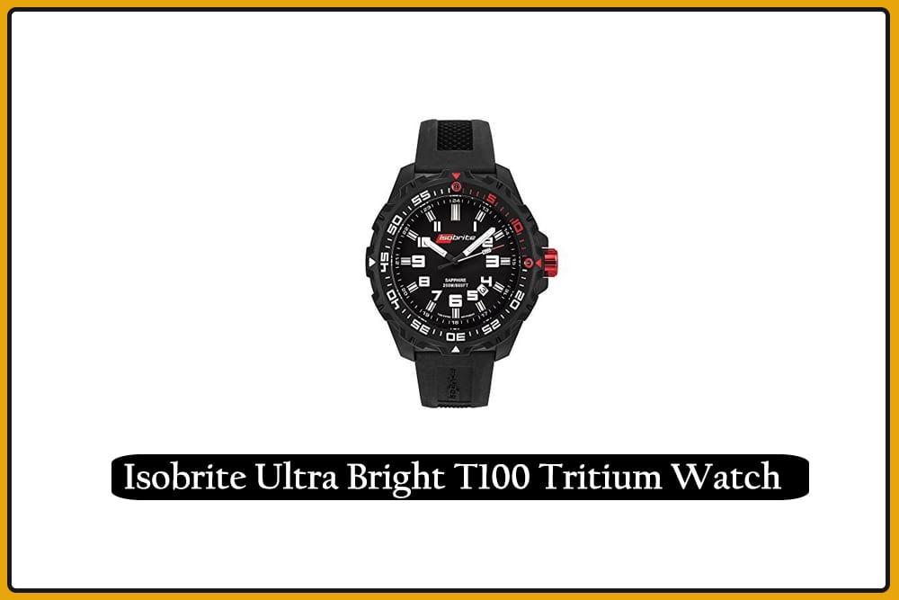 Isobrite Ultra Bright T100 Tritium Watch
