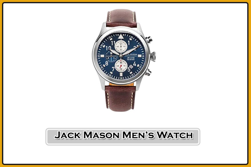 Jack Mason Men's Chronograph Pilot Watch