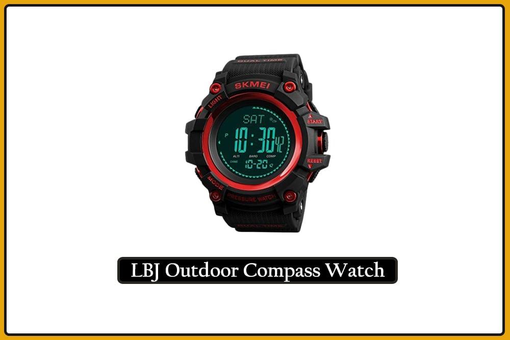LBJ Outdoor Compass Watch