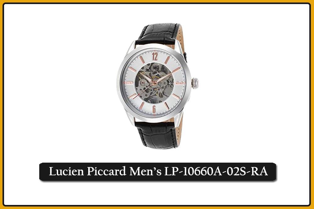 Lucien Piccard Men's LP-10660A-02S-RA