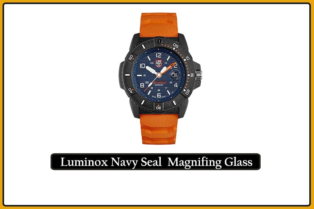 Luminox Navy Seal Magnifying Glass