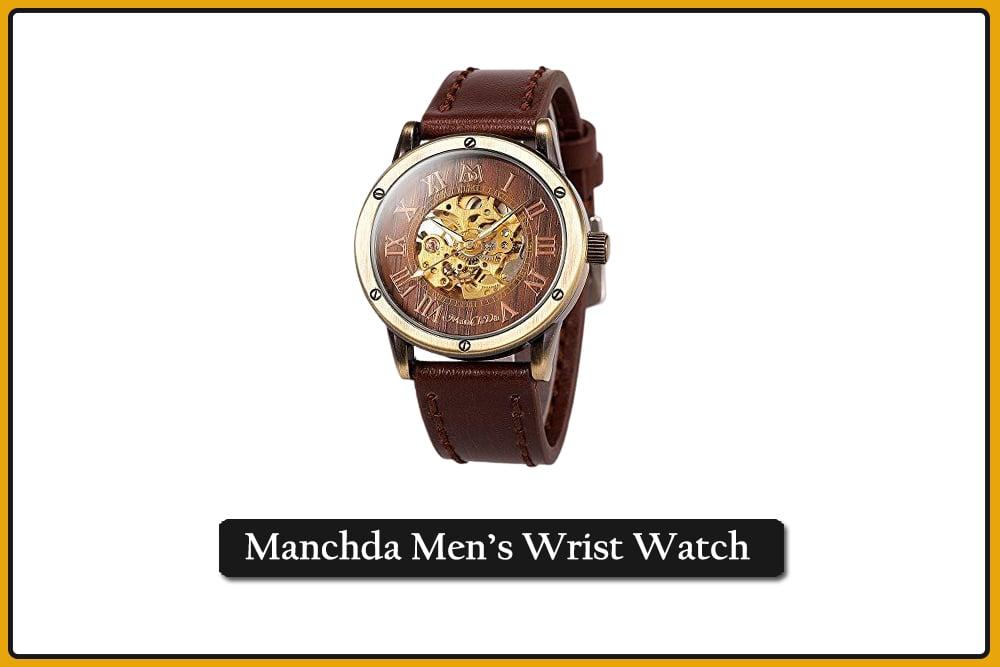 Manchda Men's Wrist Watch