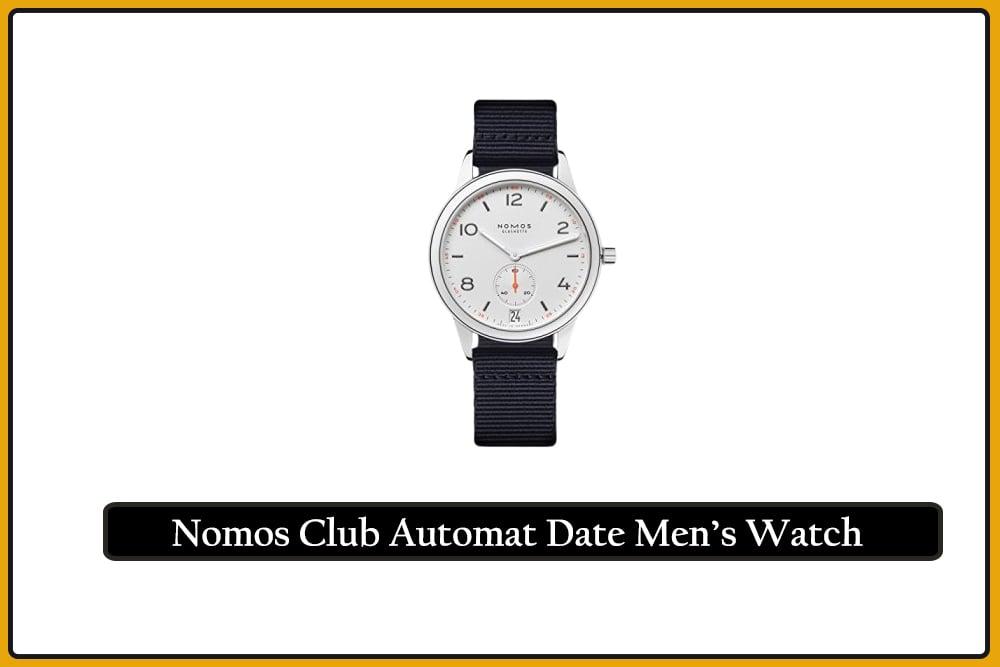 Nomos Club Automat Date Men's Watch
