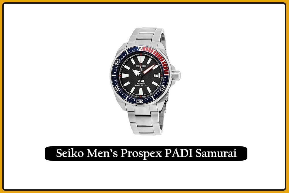 Seiko Men's Prospex PADI Samurai