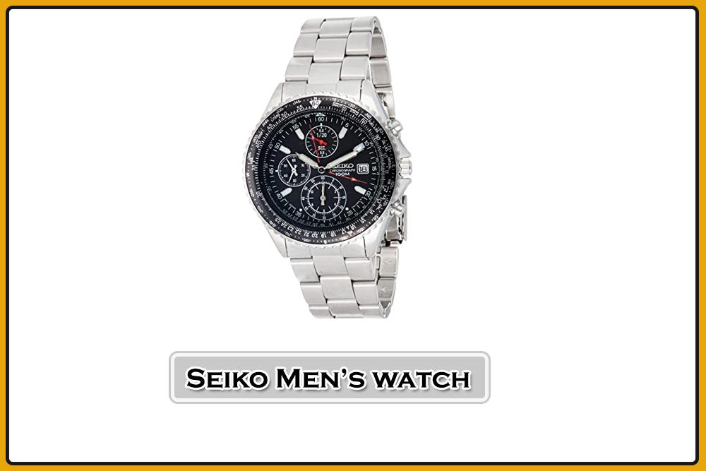 Seiko Men's Pilot watch