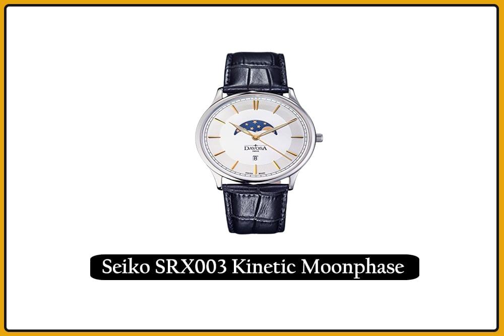 Seiko SRX003 Kinetic Moonphase