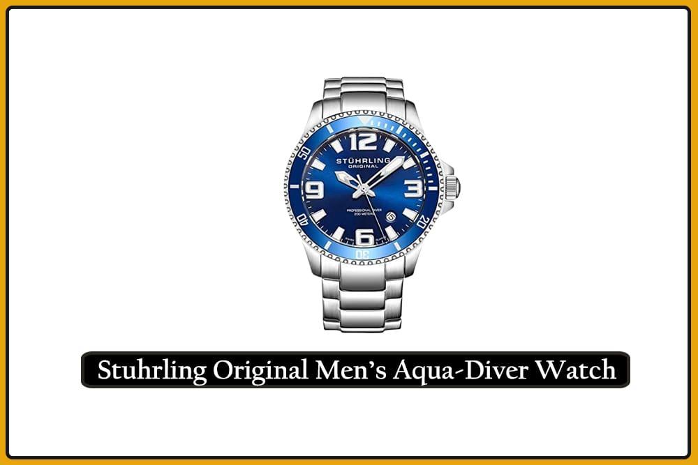 Stuhrling Original Men's Aqua-Diver Watch
