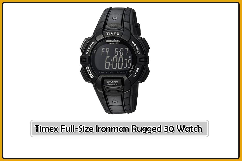 Timex Full-Size Ironman Rugged 30 Watch