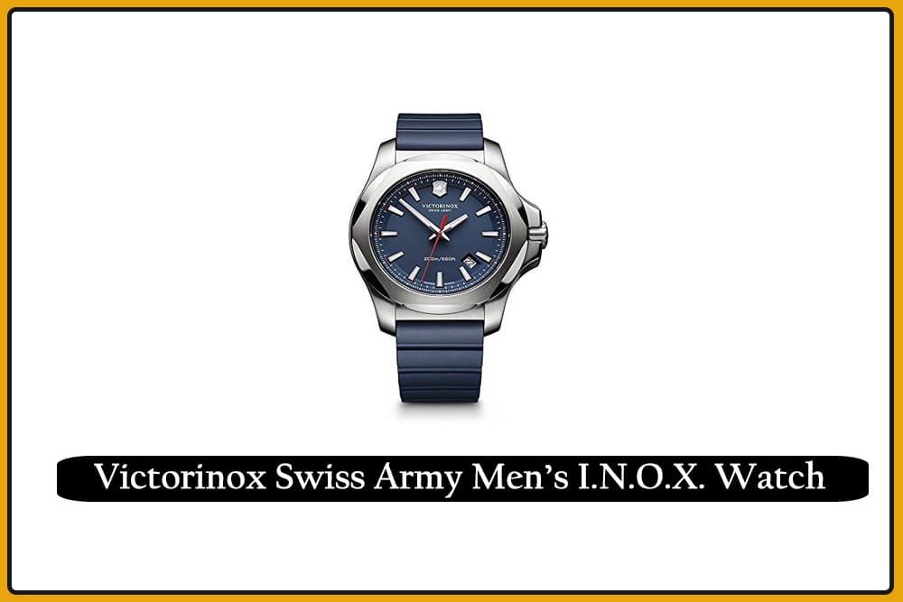 Victorinox Swiss Army Men's I.N.O.X. Watch