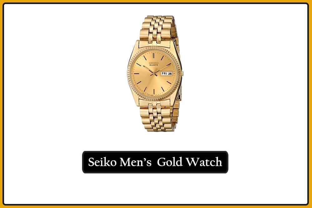 Seiko Men's SGF206 Gold