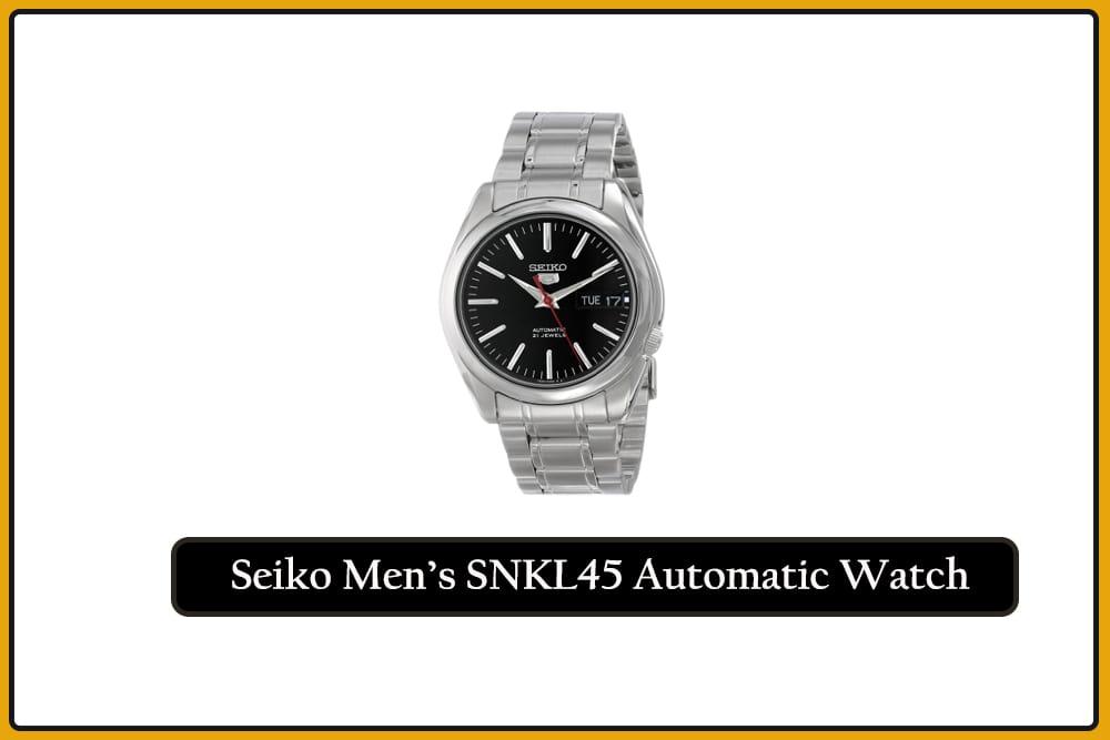Seiko Men's SNKL45 Automatic Watch