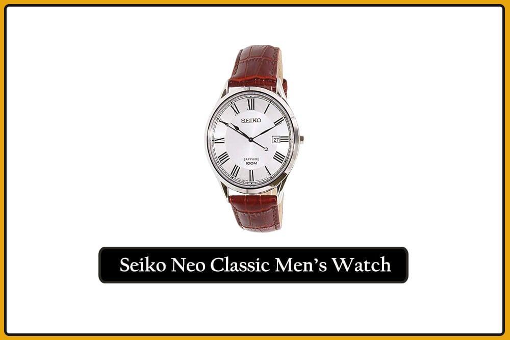 Seiko Neo Classic Men's watch