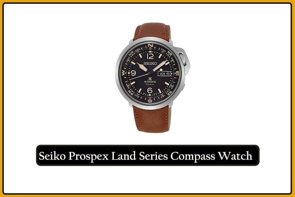Seiko Prospex Land Series Compass Watch