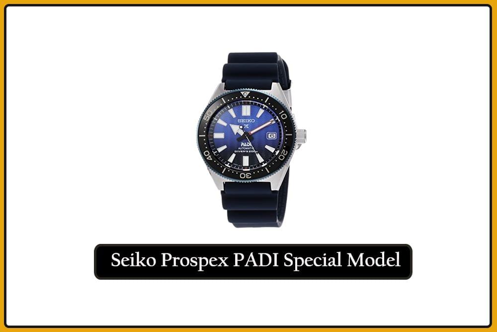 Seiko Prospex PADI Special Model