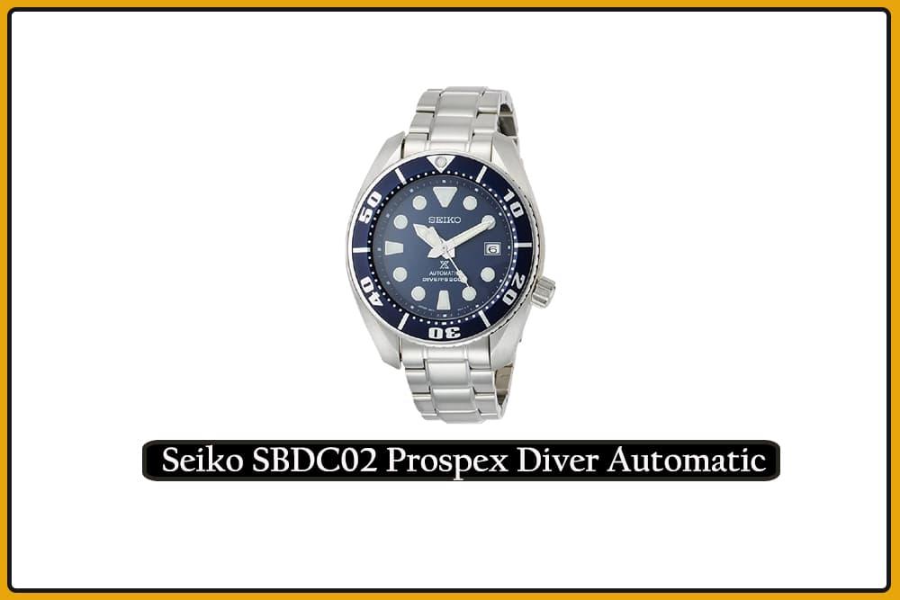 Seiko SBDC02 Prospex Diver Automatic