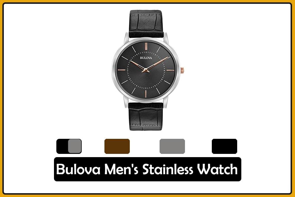 Bulova Men's Stainless Watch