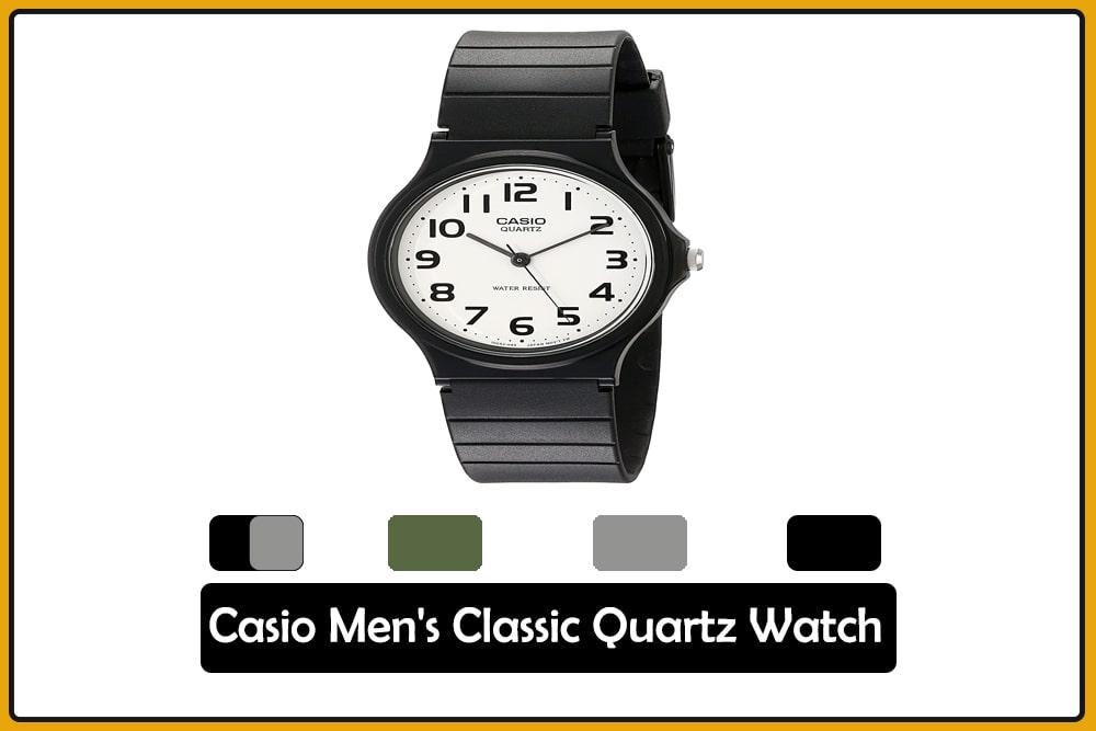 Casio Men's Classic Quartz Watch