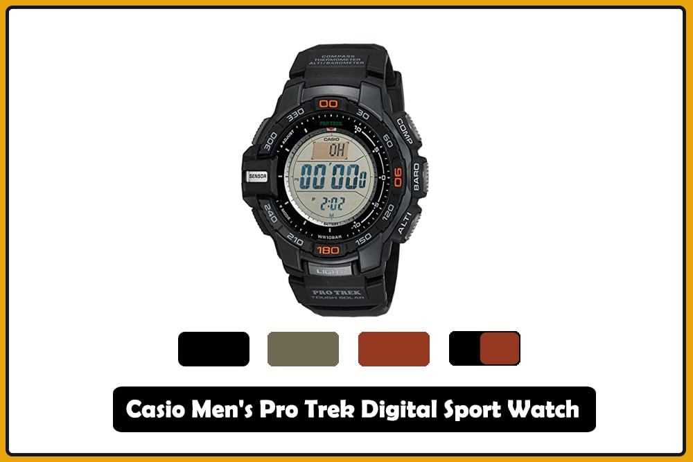 Casio Men's Pro Trek Digital Sport Watch