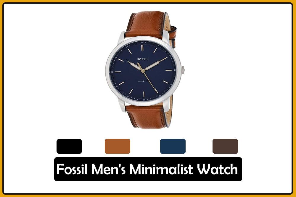Fossil Men's Minimalist Watch
