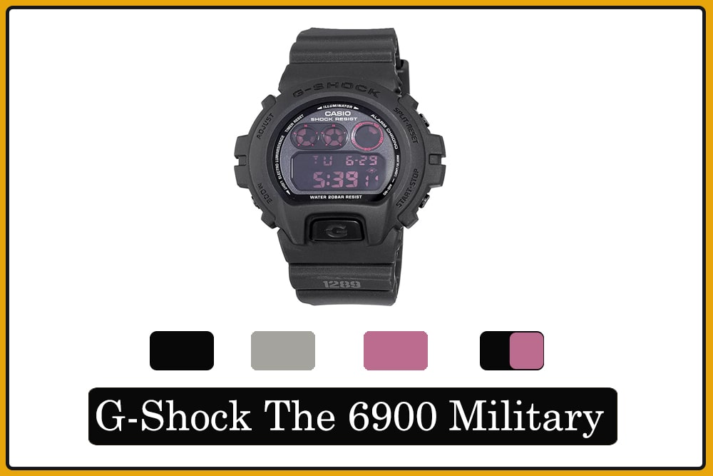 G-Shock The 6900 Military