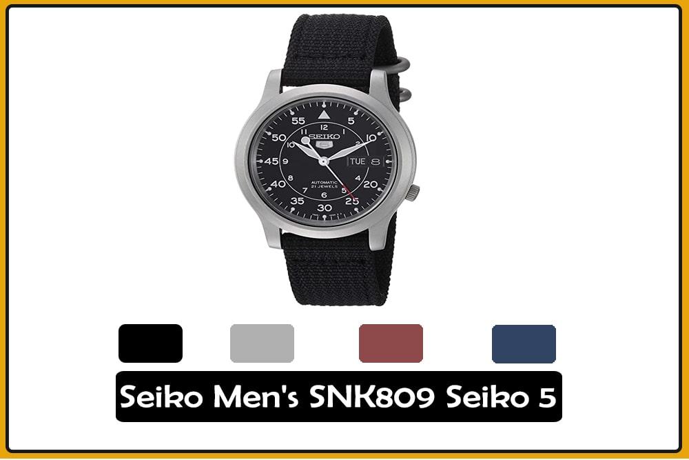 Seiko Men's SNK809 Seiko 5