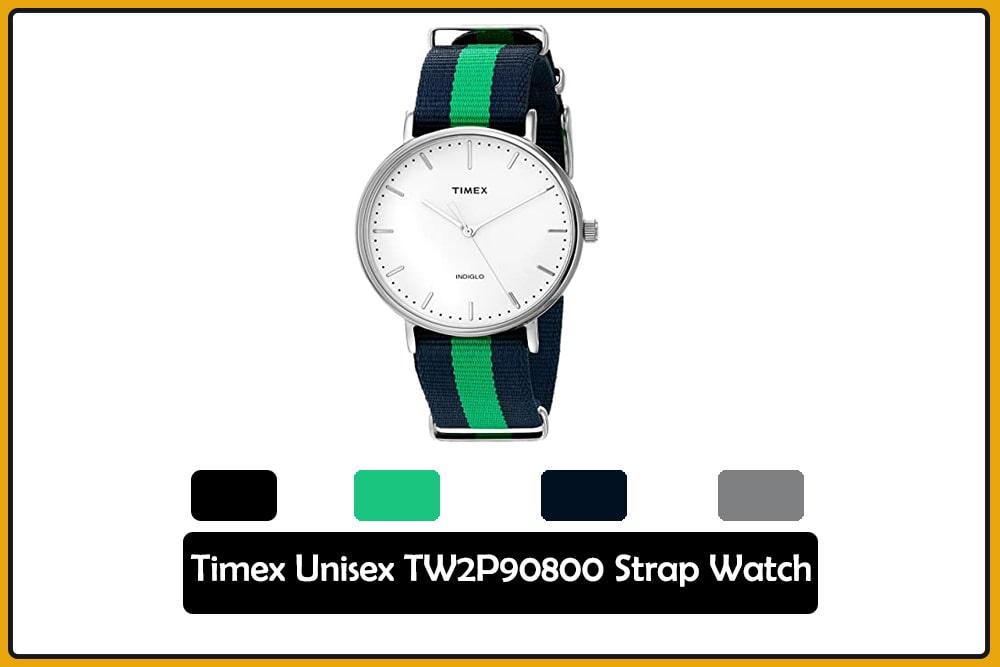 Timex Unisex TW2P90800 Strap Watch