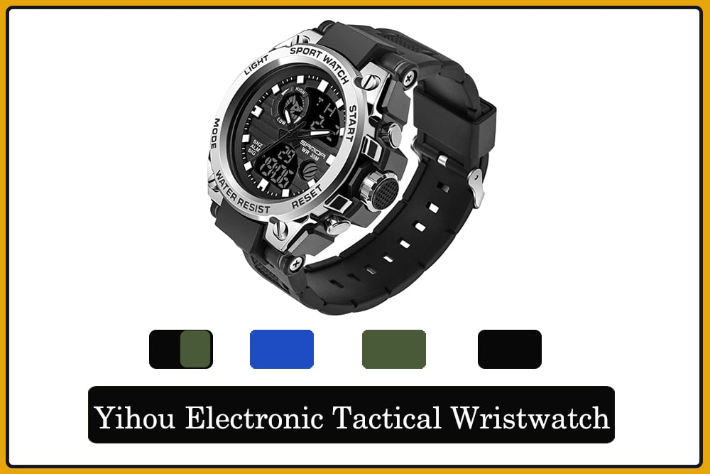 Yihou Electronic Watch Tactical Wristwatch