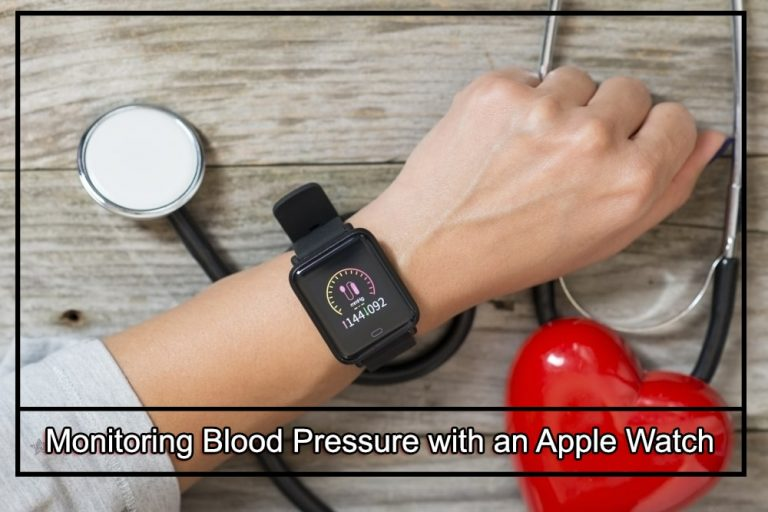Monitoring Blood Pressure with an Apple Watch?