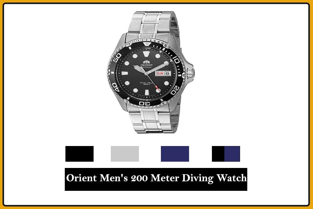 Orient Men's 200 Meter Diving Watch