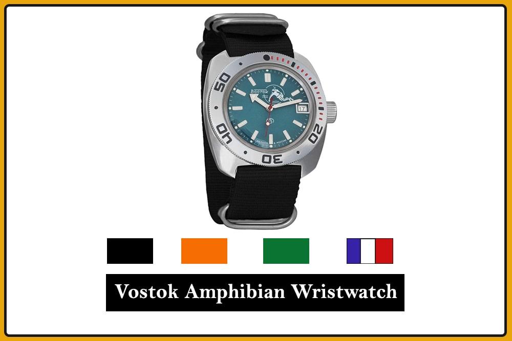 Vostok Amphibian Wristwatch