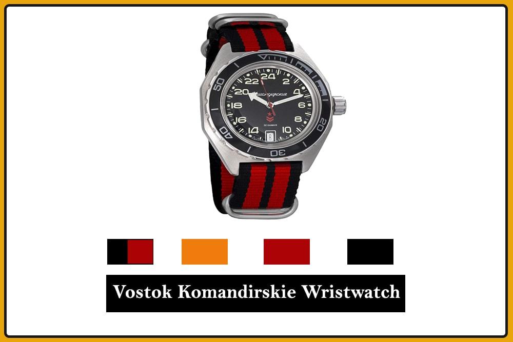 Vostok Komandirskie Wristwatch