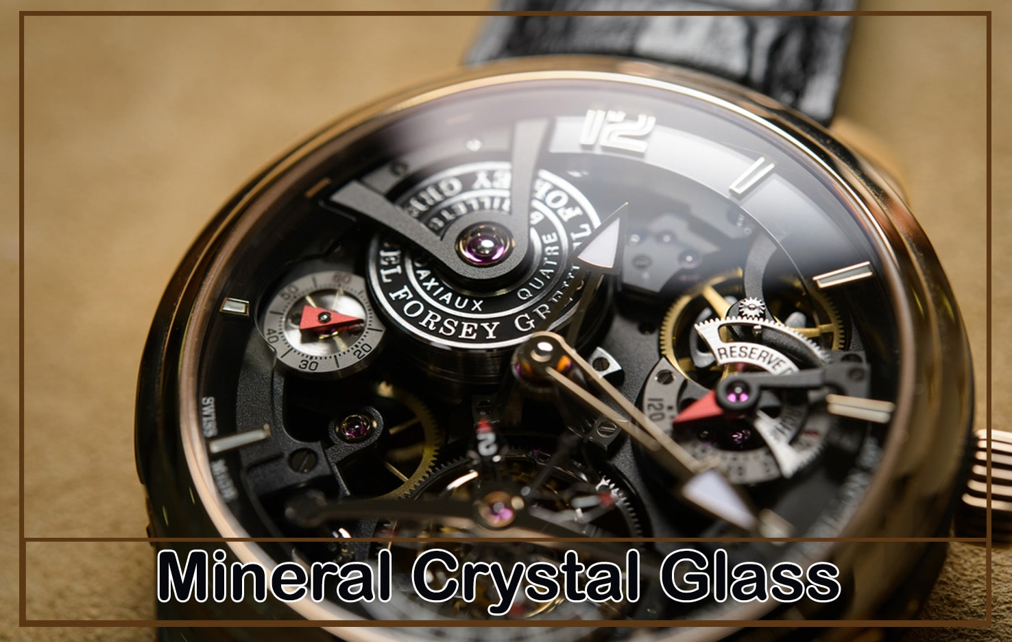 Mineral Crystal Glass