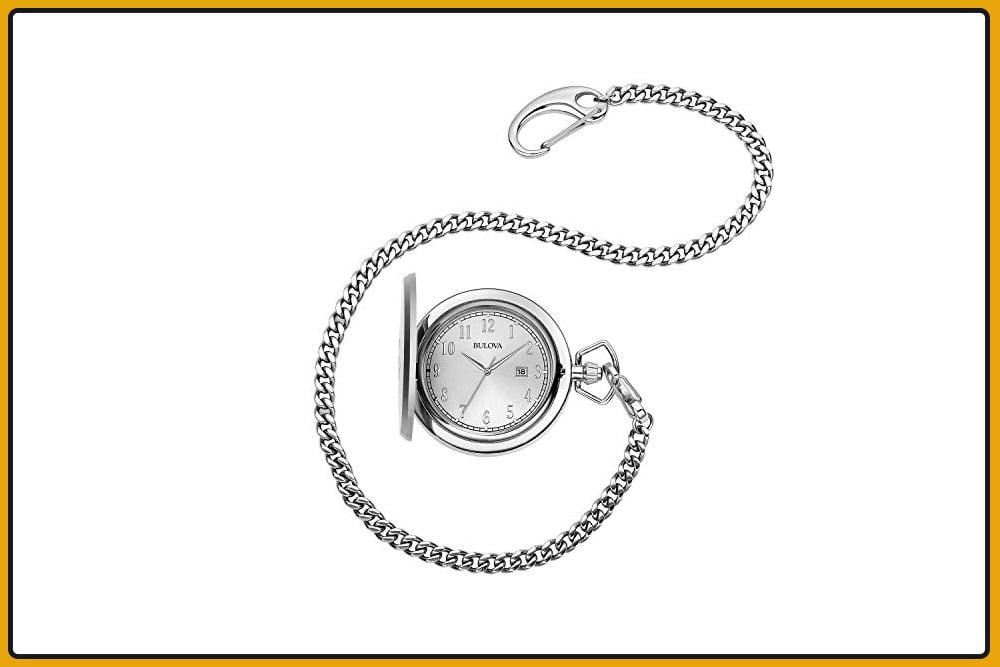 Bulova 96B270 Pocket Watch
