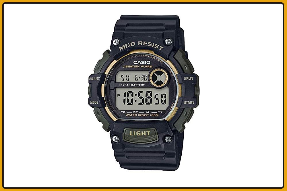 Casio Mud-Resistant Quartz Watch