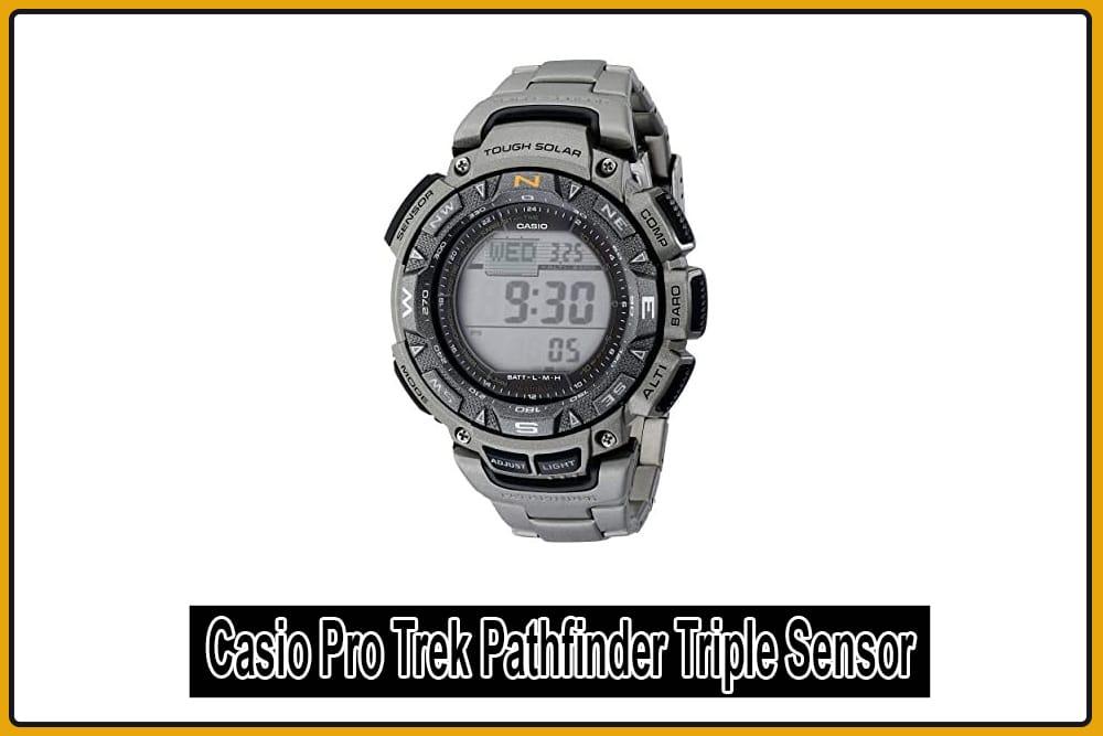 Casio Pro Trek Pathfinder Triple sensor