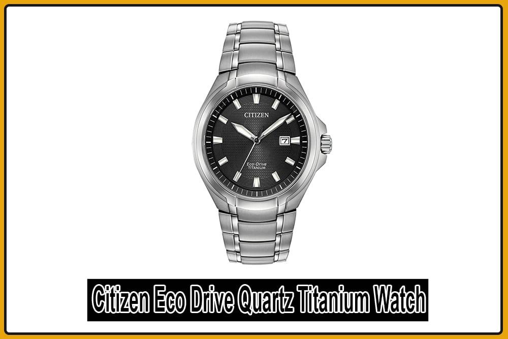 Citizen Eco Drive Quartz Titanium Watch
