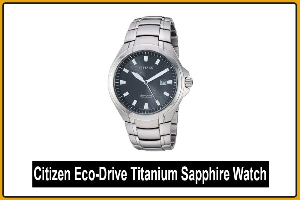 Citizen Eco-Drive Titanium Sapphire Watch