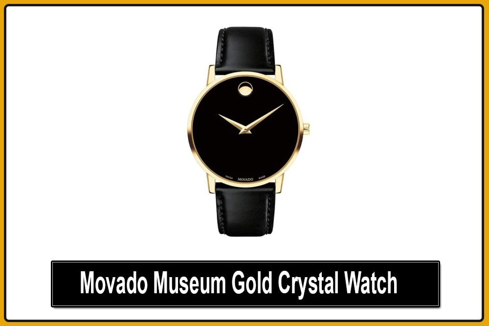 Movado Museum Gold Watch