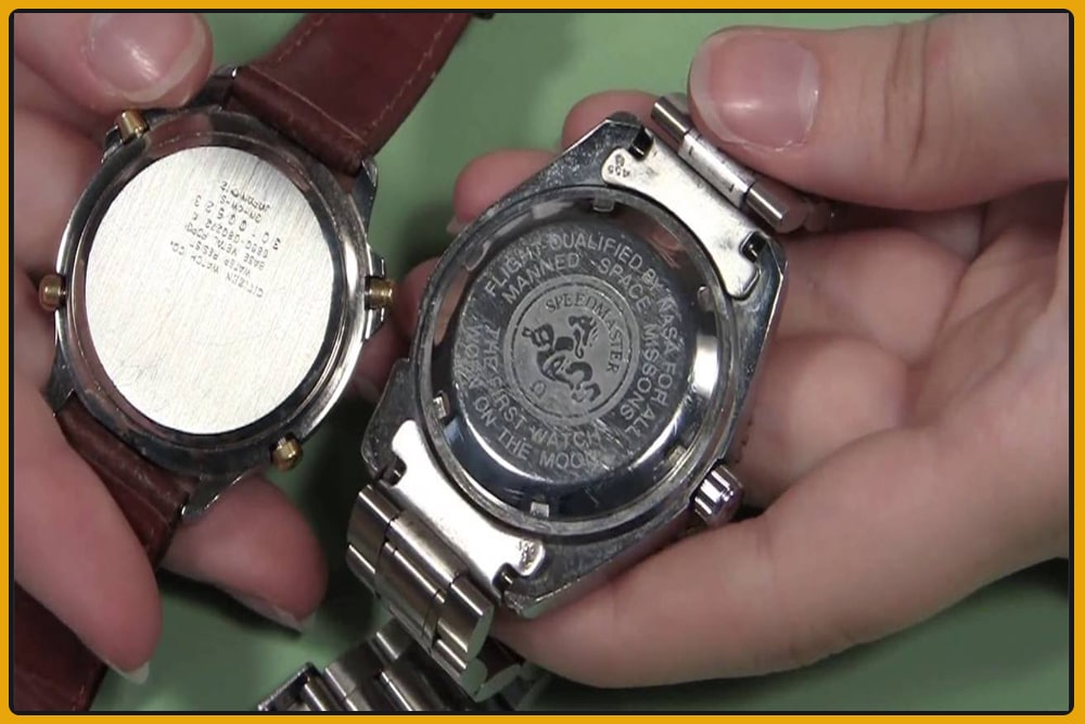 How to open the back of the Bulova watch