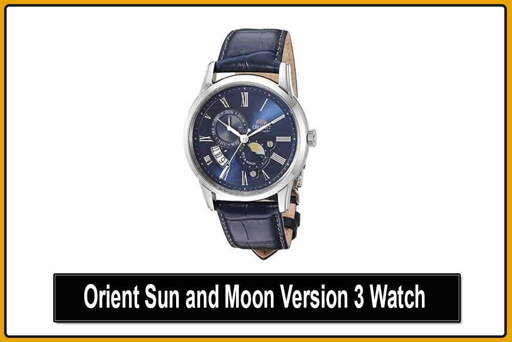 Orient Sun and Moon Version 3 Watch